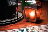Chess by the fireside